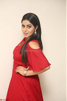 Poorna in Maroon Dress at Rakshasi movie Press meet Cute Pics ~  Exclusive 154.JPG