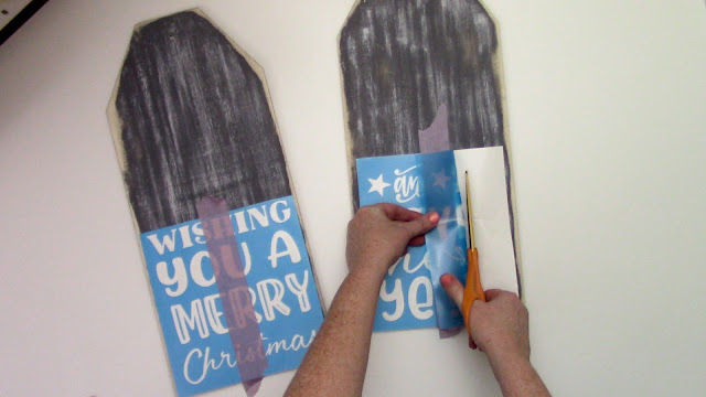 wood sign, silhouette stencils, stencil material, silhouette project idea, cameo 4