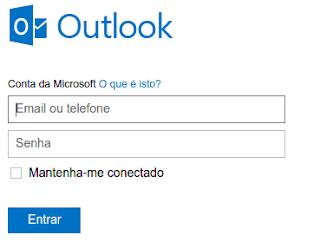 Como entrar no e-mail do Hotmail - fazer login