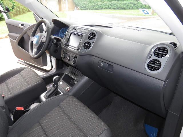 VW Tiguan 1.4 TSI 2017 - interior