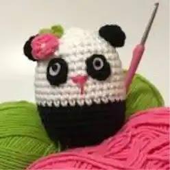 Osito Panda a Crochet