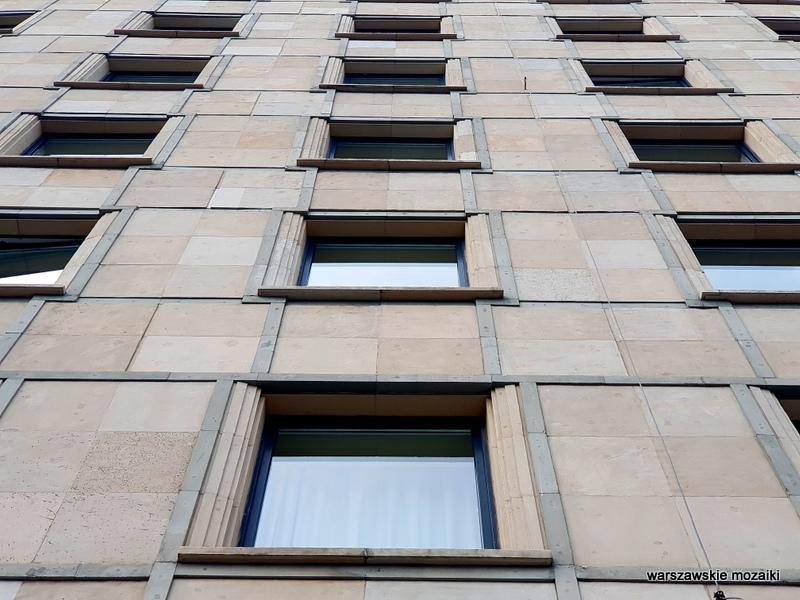 Śródmieście dzielnica ministerstw architektura architecture Warszawa Warsaw Stanisław Bieńkuński Stanisław Rychłowski lata 50 socrealizm Krucza Accor Mercure