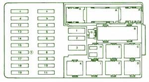 mercedes fuse box diagram fuse box mercedes benz 1990 420. Black Bedroom Furniture Sets. Home Design Ideas