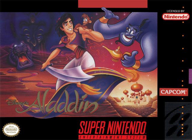 Aladdin - SNES - Portada