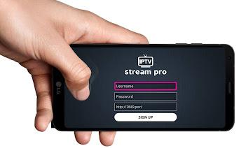 تحميل تطبيق IPTV Stream Pro مع كود التفعيل