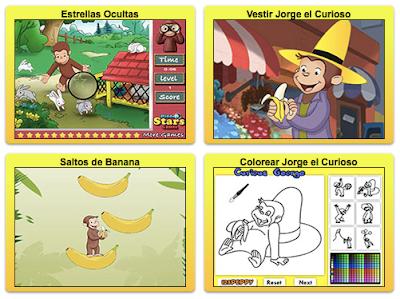 Juegos de Jorge el Curioso para jugar ahora