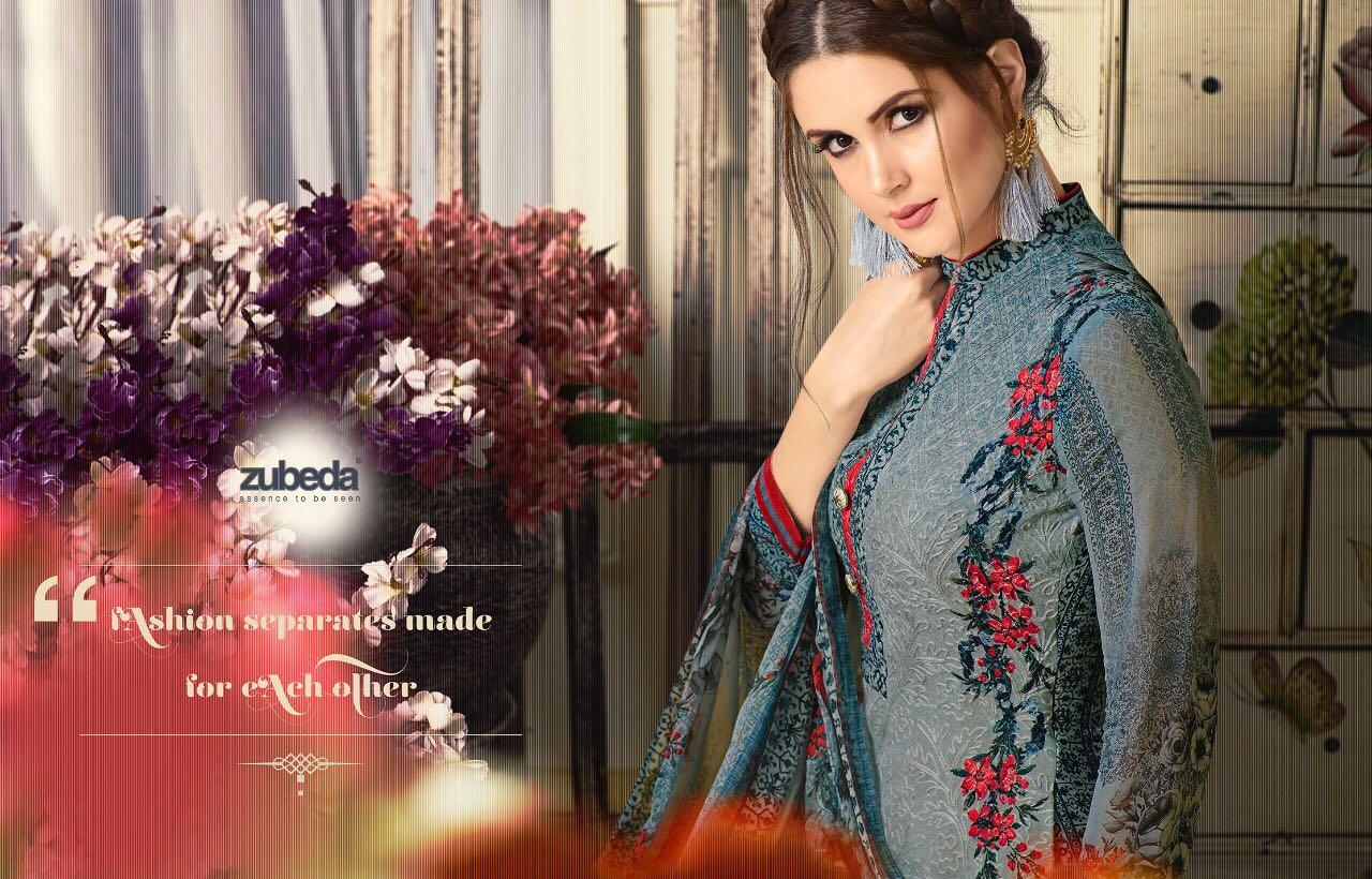 ANSIKA – Designer Georgette Aari Work Salwar Suit