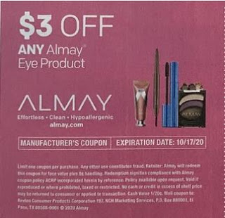 """$3.00/1 Almay Eye Product Coupon from """"SMARTSOURCE"""" insert week of 10/4/20."""