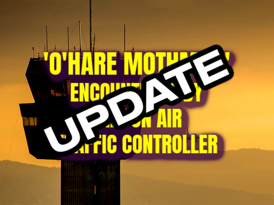 UPDATE: 'O'Hare Mothman' Encountered By TRACON Air Traffic Controller