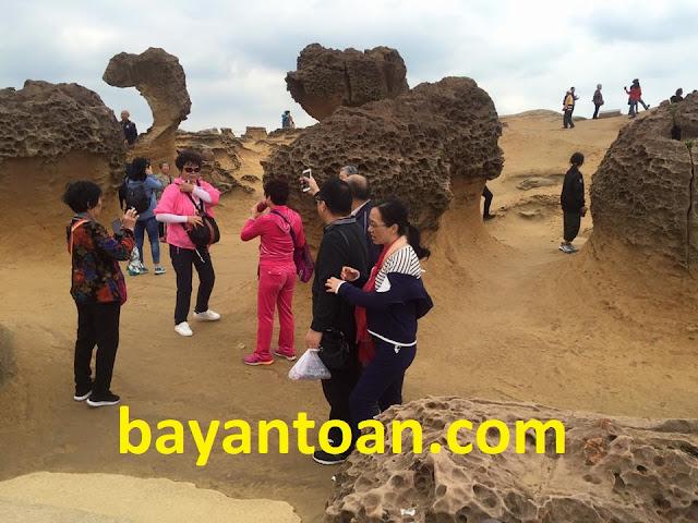 Công viên địa chất Dã Liễu tại Đài Loan