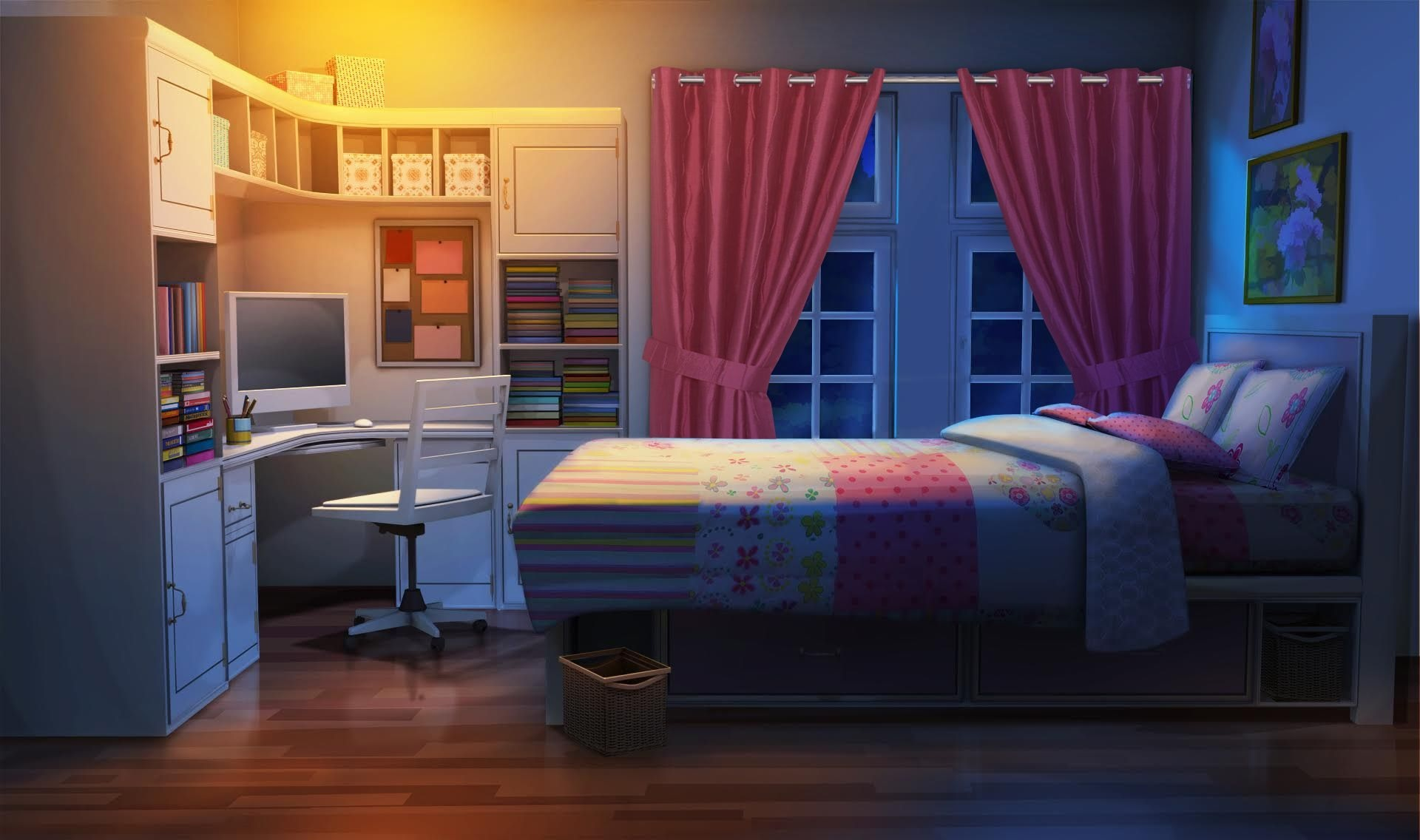 anime backgrounds bedroom
