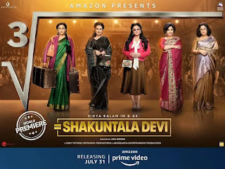 Shakuntala Devi Movie Poster