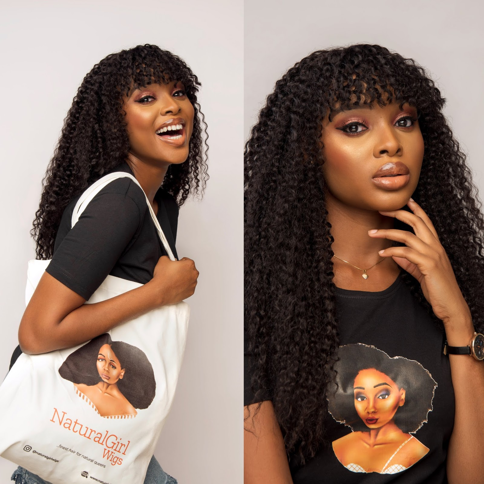 Natural Girl Wigs Nigeria.