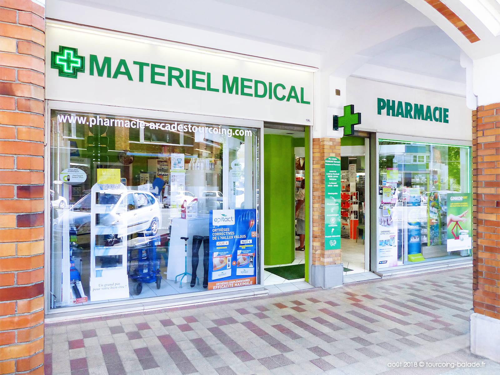 Pharmacie des Arcades, Tourcoing Centre