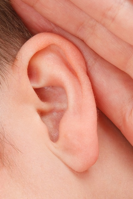 Close up hearing