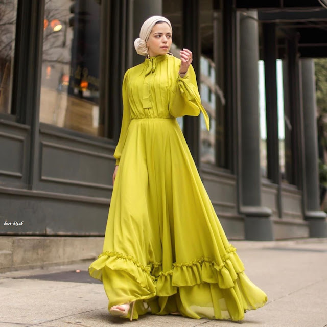 ملابس لحضور حفل زفاف للمحجبات
