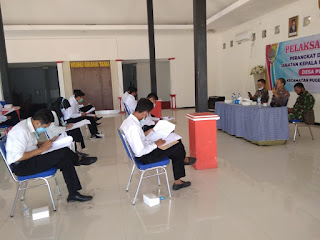 11 Peserta Seleksi Perebutkan 3 Jabatan Kosong Desa Puger Kulon
