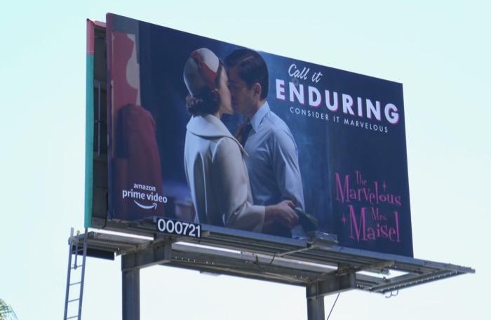 Mrs Maisel enduring 2019 Emmy FYC billboard