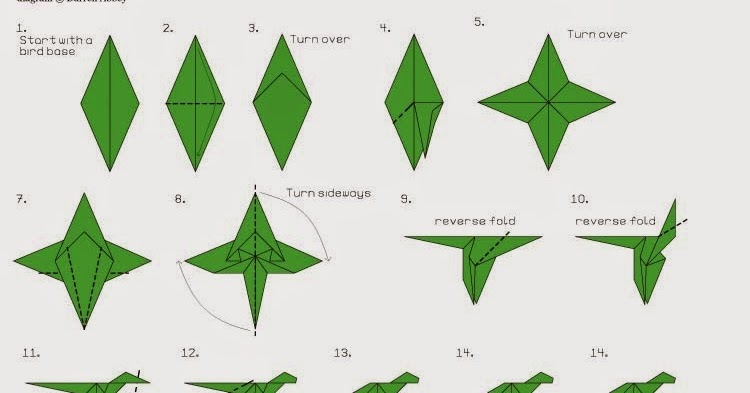 How to Make an Origami Dragon (with Pictures) - wikiHow | 393x750