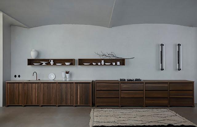 Kitchen in solid oak
