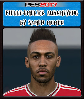 PES 2017 Faces Pierre-Emerick Aubameyang by Sameh Momen