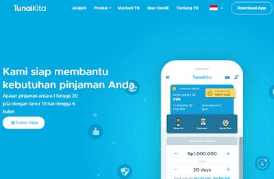 TunaiKita Pinjaman Uang Online Terpercaya