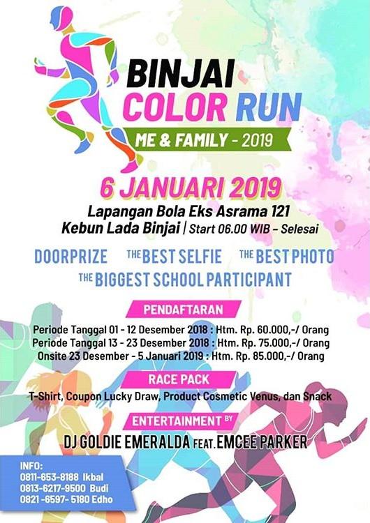 Binjai Color Run • 2019
