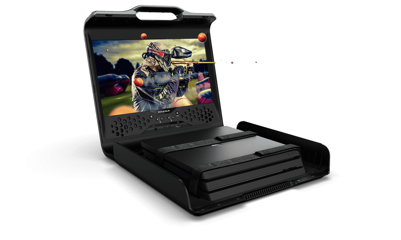 GAEMS (Sentinel Personal Gaming Environment) The World 1st machine that plays all Consoles, PC and Mobile devices Games without electricity
