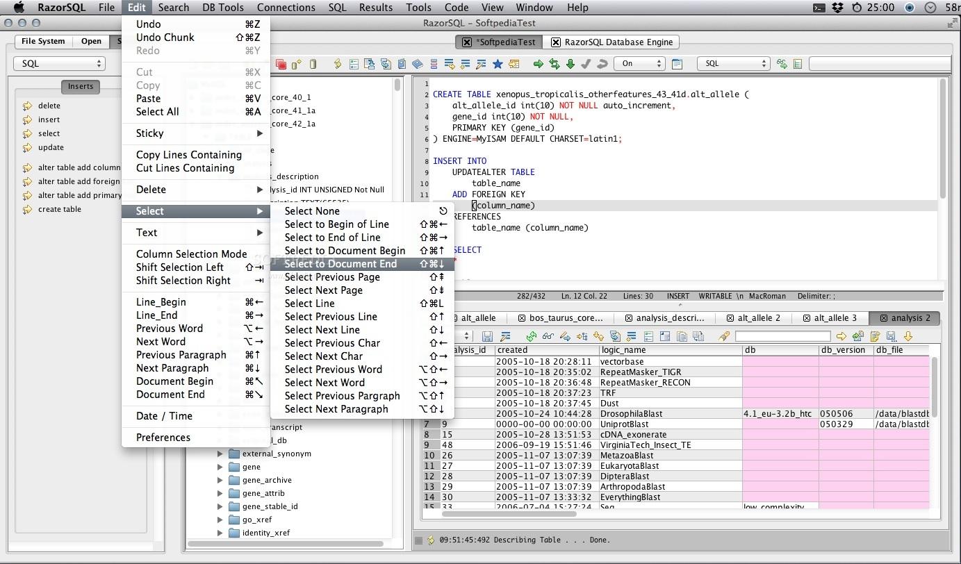 تحميل برنامج Richardson RazorSQL 9.1.2 أداة إدارة قواعد بيانات بديهية