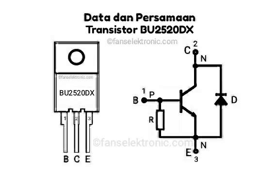 Persamaan Transistor BU2520DX