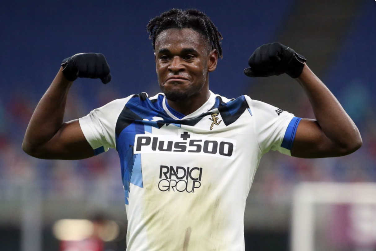 Duvan Zapata inspired Atalanta to a convincing win over title-chasing AC Milan last weekend