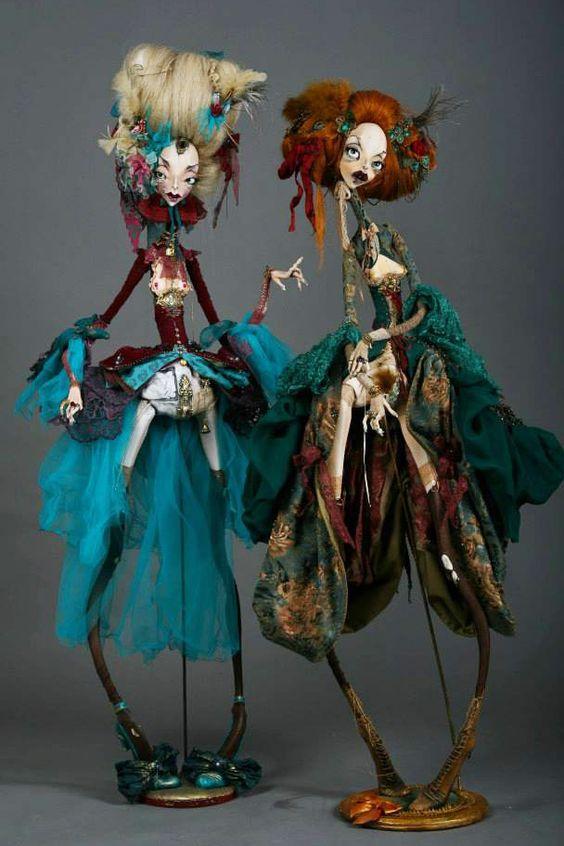 kolekcjonerskie lalki