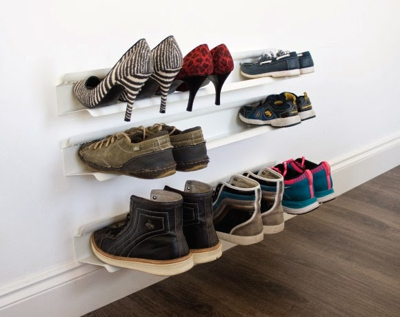 let 39 s stay creative shoe storage ideas. Black Bedroom Furniture Sets. Home Design Ideas