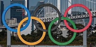 Tokyo Olympic Rings 2021