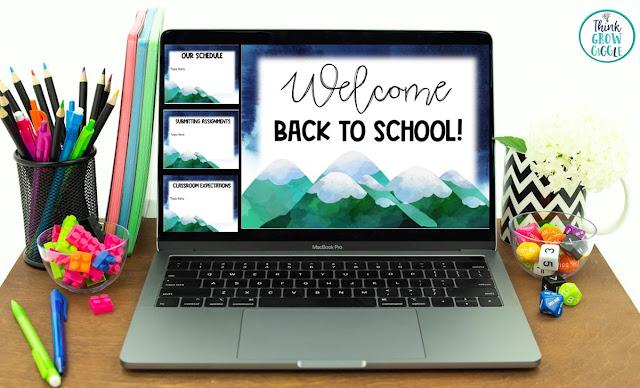 meet the teacher night editable slide show