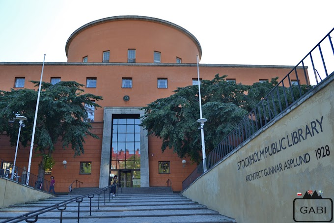 Stadsbiblioteket - sztokholmska biblioteka publiczna