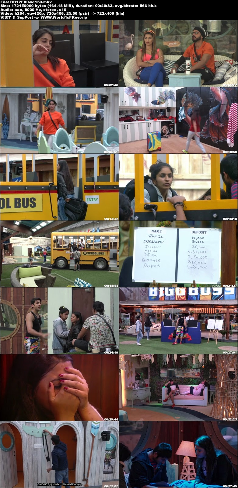 Bigg Boss 12 Episode 80 05 December 2018 WEBRip 480p 150Mb x264 world4ufree.fun tv show Bigg Boss 12 download Episode 80 05 December 2018 world4ufree.fun 200mb compressed small size free download or watch online at world4ufree.fun