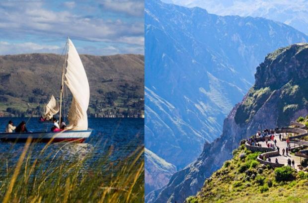 Lago Titicaca y Valle del Colca con máxima categoría como recursos turísticos