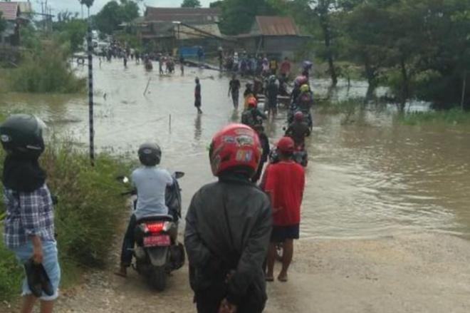 Sungai Meluap, Poros Bone-Wajo Terputus