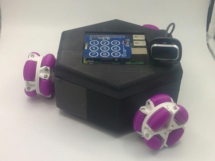 teclado capacitivo raspberry pi