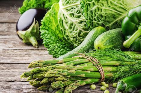 Rau củ có màu xanh giúp cung cấp Folat làm tinh trùng khoẻ mạnh