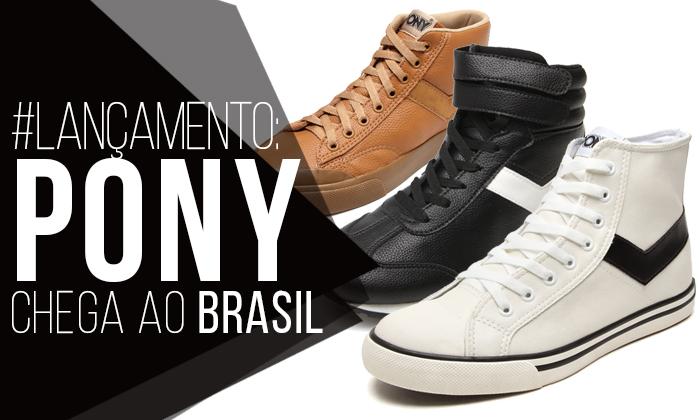 Macho Moda - Blog de Moda Masculina  PONY chega ao Brasil com Linha  Completa de Sneakers - Lançamento + Sorteio af2a049287