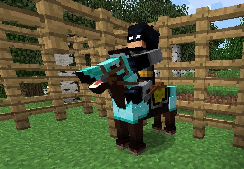 make saddle in Minecraft