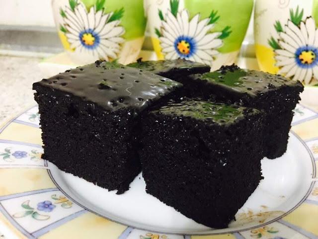 kek coklat sedap dan moist