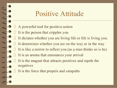 Positive Attitude Meaning