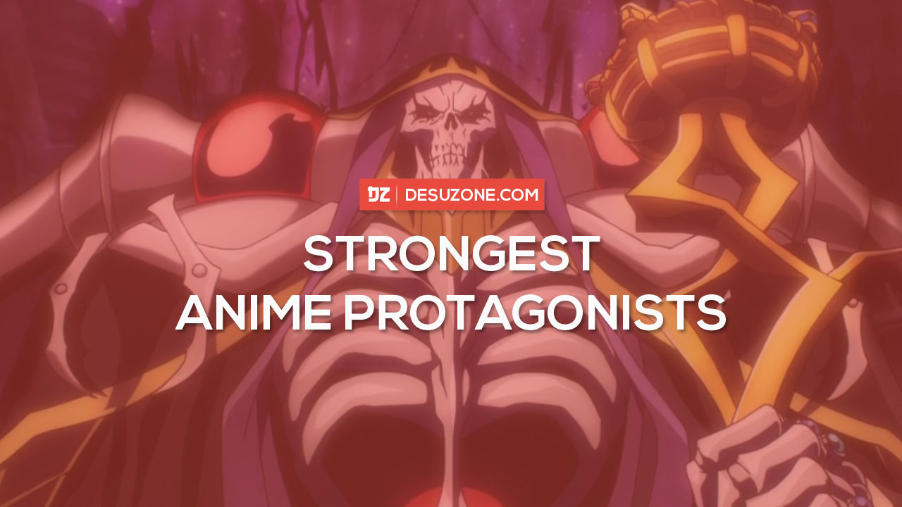 strongest anime main characters