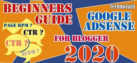 Google AdSense Beginners Guide for blogger in 2020