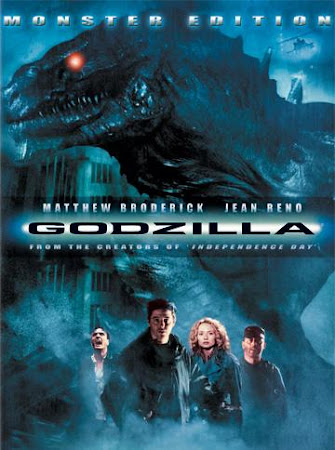 Poster Of Godzilla 1998 In Hindi Bluray 720P Free Download