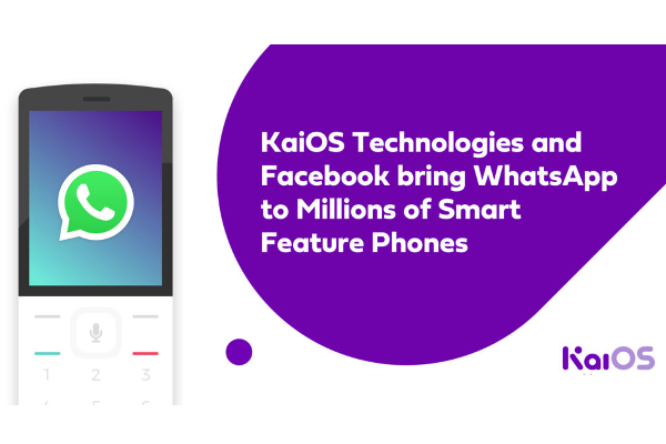 WhatsApp for KaiOS-powered smart feature phones released