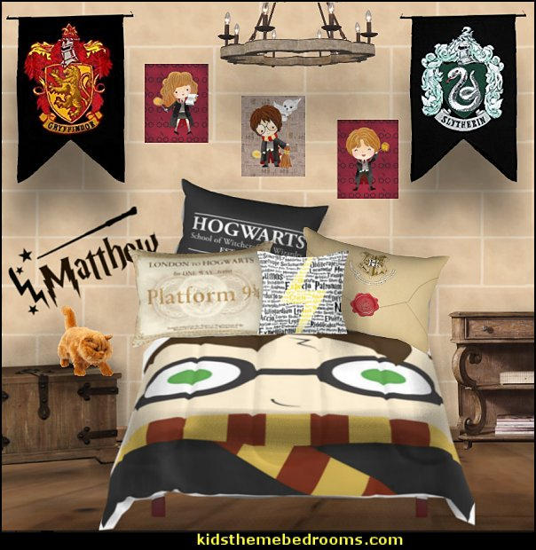 harry potter bedding harry potter bedroom hsrry potter  Harry potter themed bedrooms - harry potter bedroom decor - Harry Potter decorating ideas - Harry Potter Room Decor - Harry Potter Bedroom Ideas - Harry Potter  bedding - Harry Potter wall decals - Harry Potter wall murals - harry potter furniture - harry potter party supplies - castle decorating props - harry potter party decorations - Magical Hogwarts House Theme - harry potter home decor - harry potter bedroom decorating ideas
